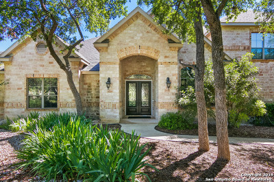 San Antonio Single Family Home For Sale: 22822 Fossil Peak
