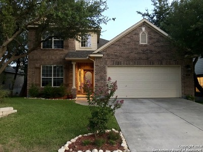 Helotes Single Family Home Price Change: 9014 Cordes Jct