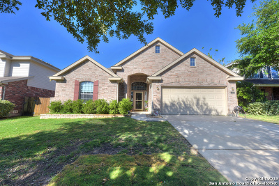 Cibolo Single Family Home Back on Market: 144 Crimson Tree