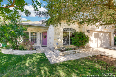 Helotes Single Family Home Active Option: 10811 Bramante Ln
