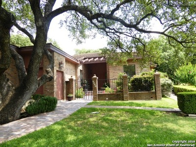 Fair Oaks Ranch Single Family Home Active Option: 7730 Terra Manor