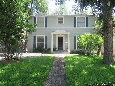 Mahncke Park Single Family Home For Sale: 334 Natalen Ave