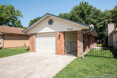 New Braunfels Single Family Home Price Change: 746 Briarbend Dr