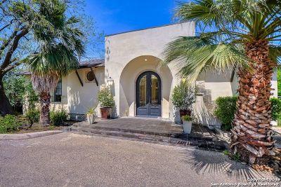 San Antonio TX Single Family Home Back on Market: $1,050,000