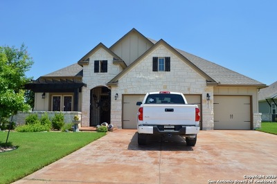 Schertz Single Family Home For Sale: 11814 Sun Bloom