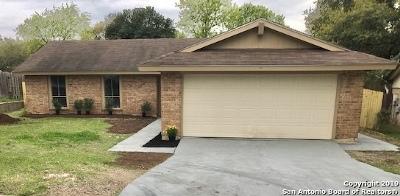 Schertz Single Family Home Active Option: 4917 Tiffany Ln