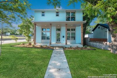 San Antonio Single Family Home Back on Market: 430 Burleson