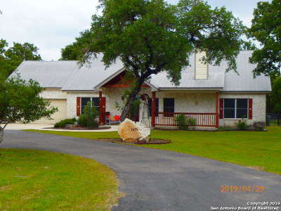 Spring Branch Single Family Home Active Option: 1615 Cypress Pass Rd