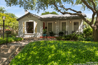 Alamo Heights Single Family Home For Sale: 301 Wildrose Ave