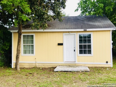 San Antonio Single Family Home Back on Market: 2206 Martin Luther King Dr