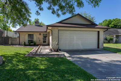 Schertz Single Family Home Back on Market: 3410 Turnabout Loop