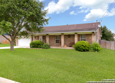Floresville Single Family Home For Sale: 95 Windcrest