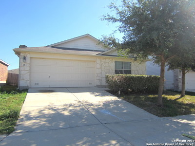Cibolo Rental Back on Market: 361 Prickly Pear Dr