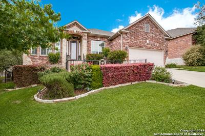 Helotes Single Family Home Active Option: 8615 Mantano Ridge