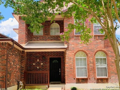 Helotes Single Family Home Price Change: 12914 Green Cedar