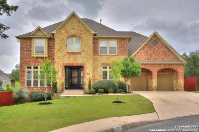 San Antonio Single Family Home Price Change: 8707 River Trace