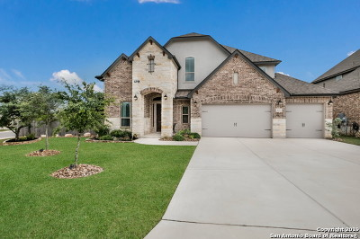 Boerne Single Family Home Active Option: 26921 Anemone Bend