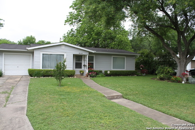 San Antonio Single Family Home Back on Market: 615 John Adams Dr