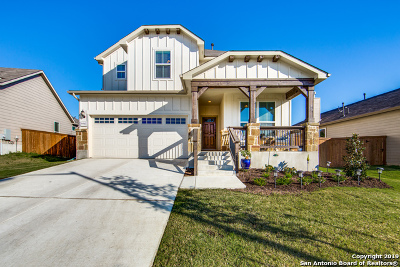 Schertz Single Family Home Price Change: 6641 Bowie Cove