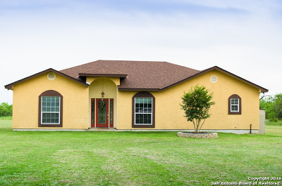Schertz Single Family Home Price Change: 6147 Pfeil Rd