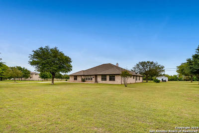 Schertz Single Family Home Price Change: 12440 Schaefer Rd