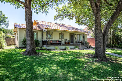 San Antonio Single Family Home For Sale: 631 E Mandalay Dr