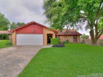Live Oak Single Family Home Active Option: 7725 Cool Sands St