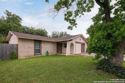 Converse Single Family Home Back on Market: 9813 Meadow Hill