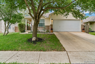 Cibolo Single Family Home Active Option: 132 Verbena Gap