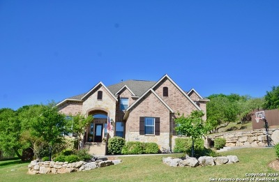 Boerne Single Family Home For Sale: 9002 Woodland Pass