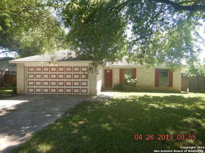 Universal City Single Family Home Active Option: 522 Tumblebrook