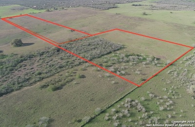 Floresville Residential Lots & Land Active Option: 1337 And 1373 County Road 122