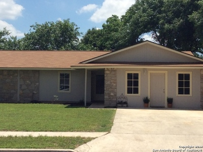 San Antonio Single Family Home Back on Market: 6630 Spring Brook St