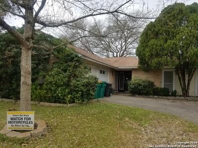 Converse Single Family Home Price Change: 10515 Big Mesa St