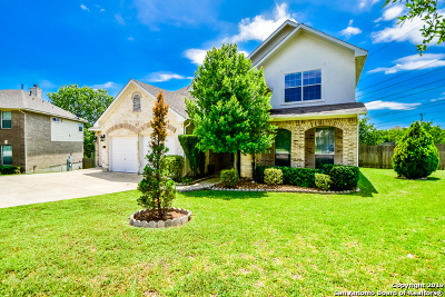 Helotes Single Family Home Price Change: 9118 Cordes Junction