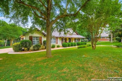New Braunfels Single Family Home Active Option: 1752 Cypress Rapids Dr