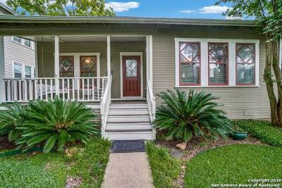 Alamo Heights Single Family Home Price Change: 245 Montclair St