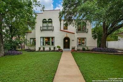 San Antonio Single Family Home Active Option: 339 W Hollywood Ave