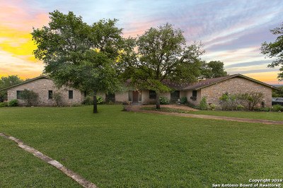 Boerne Single Family Home Back on Market: 28170 Ruffian Dr