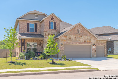 Helotes Single Family Home Price Change: 10574 Far Reaches Ln