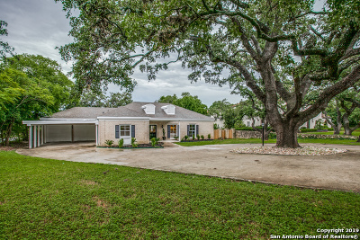 San Antonio Single Family Home For Sale: 130 E Kings Hwy