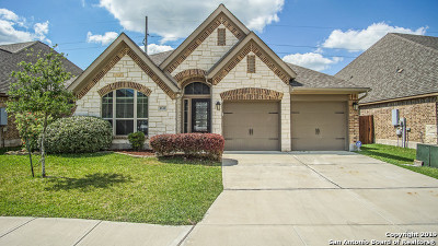 Seguin Single Family Home Price Change: 2128 Pioneer Pass