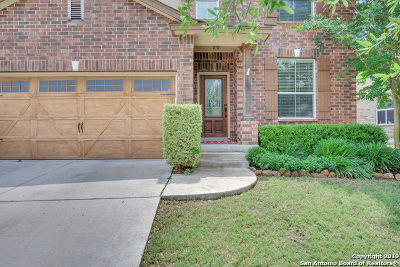 Stone Oak Single Family Home Active Option: 23018 Cardigan Chase