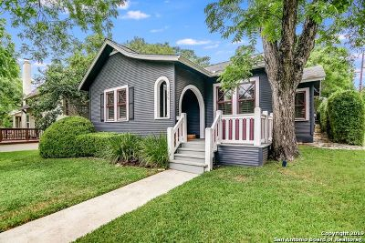Alamo Heights Single Family Home Active Option: 125 Lafayette Ave