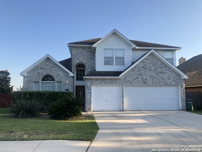 Stone Oak Single Family Home For Sale: 1502 Crescent View