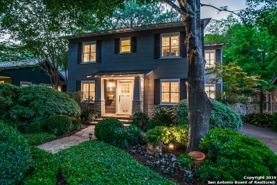 Alamo Heights Single Family Home Active Option: 219 Harrison Ave