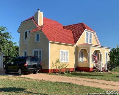 Blanco Single Family Home For Sale: 204 Prim Rose