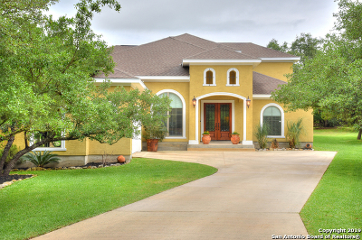 Timberwood Park Single Family Home For Sale: 830 Venado Hills