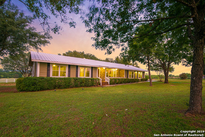 Seguin Single Family Home Price Change: 295 McKnight Rd