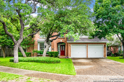 San Antonio Single Family Home New: 15619 Ashton Wood